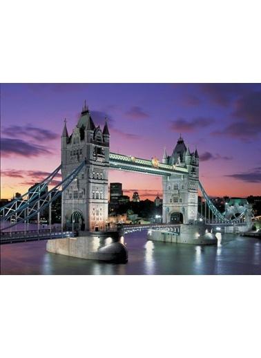 Educa Educa 1000 Parça Neon Puzzle Tower Bridge Renkli
